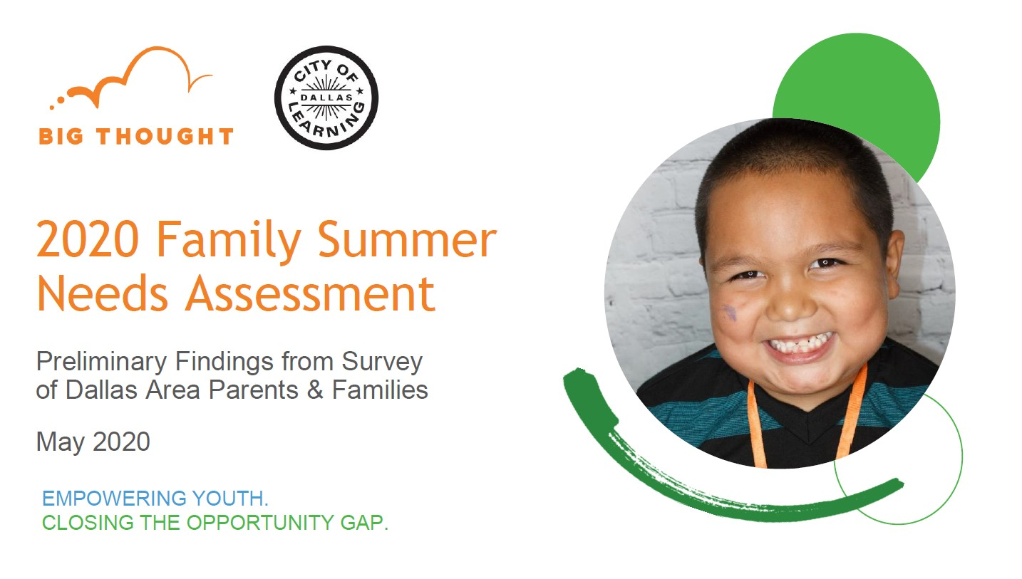 FamilyNeeds Survey Preliminary Report